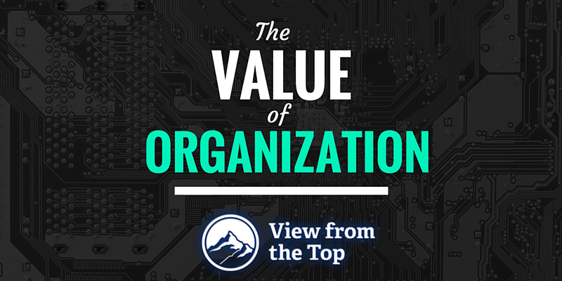 The_Value_Of_Organization