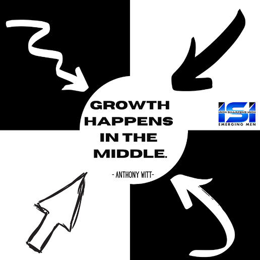 Growth happens in the middle.