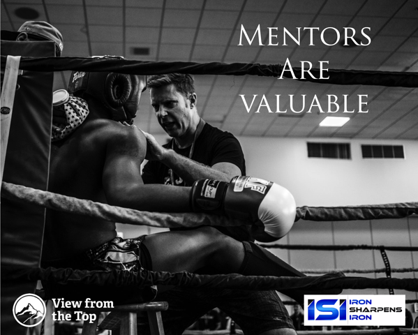 Mentor are valuable Aaron Walker